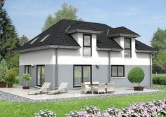 Ein weiteres schönes #Wohnhaus mit #Walmdach! Unsere #Häuser sind auch bei #Google+ zu finden. www.herwig-haus.de