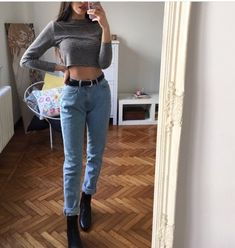 Korean Fashion – How to Dress up Korean Style – Designer Fashion Tips Cute Casual Outfits, Outfits For Teens, Fall Outfits, Teen Fashion, Korean Fashion, Fashion Outfits, Womens Fashion, Outfit Goals, Outfit Ideas
