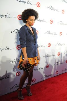 Solange Knowles in 3.1 Phillip Lim for Target.