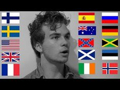 One Guy, 24 Accents - YouTube