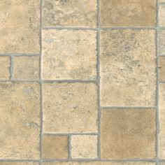 This vinyl floor has a great combination of color and pattern that replicates the real stone look. Its beige and cream color will add grace to every corner of your room, making it look stunning without spending much as compared to real stone.