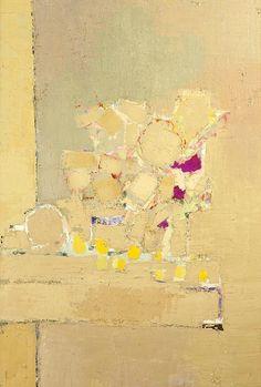 stilllifequickheart: Nicolas de Stael Flowers 1953