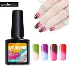 Modelones 10ml temperature Nail Gel Polish UV&LED Gel Polish 10ML High Quality Soak Off Varnish cheap Manicure