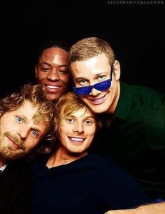 Bradley james | Rupert Young | Adetomiwa Edun | Tom Hopper