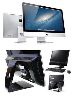 2011년 출시된 삼성의 AF315 올인원PC...뭐 이젠 올인원이 일반화된 만큼 이정도면 무난하게 따라했다. 하지만 스탠드와 동그란 구멍은 좀... 아마 애플이 특허를 내놓은 부분일텐데..하필 그걸 못참고 따라할 필요까지야... Copycat, Monitor, Apple, Electronics, Friends, Amigos, Boyfriends, Apples, True Friends