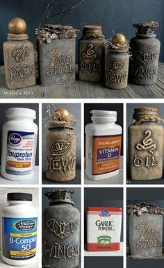 diy apothecary jars Archives - diyhalloweencrafts