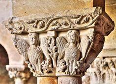 Arpías, Capitel Románico - Claustro de Santo Domingo de Silos