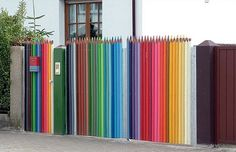 Seriously the nicest fence I've ever seen, I would do anything to put this up!