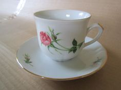 ROSE Jackie Lynd Christineholm Fyrklävern. Second Hand, Tea Cups, Rose, Tableware, Tea Pots, Mugs, Pink, Dinnerware, Roses