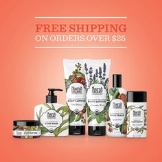 Today only get free shipping on all orders over $25 within the continental U.S.