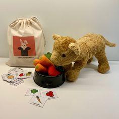 Sanasäkki — KONKREETTISTA VARHAISKASVATUSTA Language, Teddy Bear, Education, Toys, Animals, Experiment, Activity Toys, Animales, Animaux