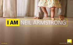 Yo soy Neil Armstrong / publicidad de Nikon