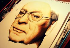 Prismacolor pencils Michael Caine