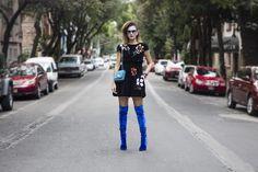 Aterciopelados #LaJuarez #Mexico #City #sunny #funny #days #ootd #streetstyle #velvet #Fendi #Aquazzura #EmilioPucci #Chanel #Tuek #lifestyleblogger #fashionblogger #moalmada