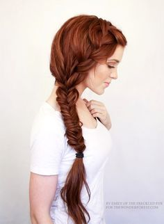 9 Inspiring Redheads Long Thick Side Braid Red Hair Inspiration Freckle Fox For The Wonder Forest photo 9-Inspiring-Redheads-Long-Thick-Side-Braid-Red-Hair-Inspiration-Freckle-Fox-For-The-Wonder-Forest.jpg #Redheads