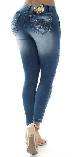 Jeans levanta cola ENE2 93227    Supernatural Style | https://pinterest.com/SnatualStyle/