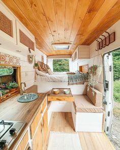 Van Interior, Interior Design, Bus House, Tiny House, Bus Living, Van Home, Diy Camper, House On Wheels, Furniture Decor