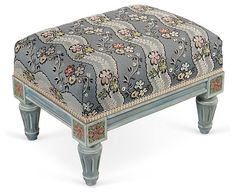 Louis XVI-Style Footrest | A Journey in Style | One Kings Lane