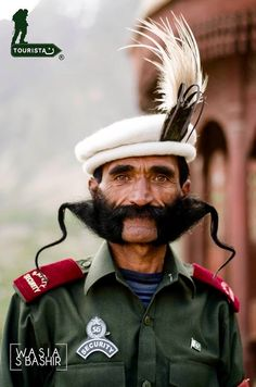 Security guard at Baltit Fort at Hunza in the Karakoram Mountains - Northern Pakistan