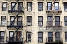 nyc building facade with fire escape - Google Search