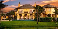 This incredible estate features 5 bedrooms, 6 full and 2 half baths, 12' ceilings on first floor, 10' on second floor, stone and mahogany floors, covered breezeways and porches, sweeping vistas, complete summer kitchen, infinity pool with 8 fountains on patio deck overlooking golf course and ocean.  #luxuryhomes #realestate