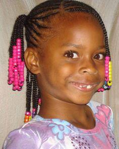 Cute Hairstyles For Short Hair Black Girls  Women Medium Haircut Little Girl Braid Hairstyles, Black Girl Short Hairstyles, Cute Braided Hairstyles, Little Girl Braids, Teenage Hairstyles, Braids For Kids, Cute Hairstyles For Short Hair, Girls Braids, Quick Hairstyles