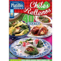Revista   Irresistibles Platillos Especial 35 - Chiles rellenos