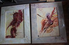 2 pieces 130 cm x 100 cm in the studio cjvis-fineart.com