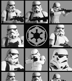 Star Wars Stormtroopers Block CottonStar Wars Stormtroopers Block Cotton,