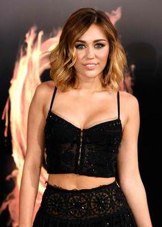 Miley Cyrus #hair #makeup