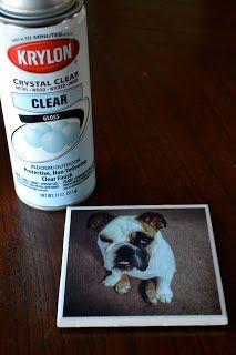 Make your own coasters.  So simple and easy.  And I think I already have the tiles somewhere.