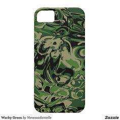 Wacky Green iPhone SE/5/5s Case