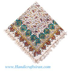 Iran, Isfahan  Persian Handicrafts Printed textile called Ghalamkari or Qalamkari in Persian. 1- You can order from anywhere. 2-Best price & quality.