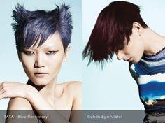 Blue Rosemary and Indigo Violet