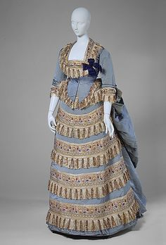 Ball Gown, House of Worth, 1872