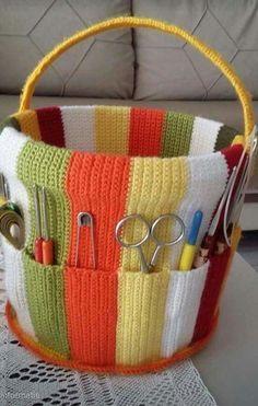 Crochet flowers easy granny squares ideas for 2019 Croche. Crochet flowers easy granny squares ideas for 2019 Croche… Crochet flower Crochet Home, Crochet Crafts, Crochet Baby, Crochet Projects, Crochet Granny, Diy Crafts, Tunisian Crochet, Sewing Crafts, Crochet Organizer