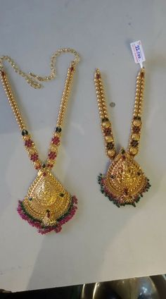 Gold Jewelry For Brides Gold Bangles Design, Gold Earrings Designs, Gold Jewellery Design, Necklace Designs, Gold Necklace Simple, Gold Jewelry Simple, Gold Mangalsutra Designs, Antique Jewellery Designs, Jewelry Model