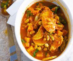 recette du ragoût de poulet et flageolets.
