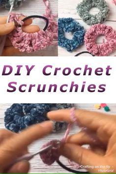 Easy Beginner Crochet Patterns, Beginner Crochet Projects, Knitting For Beginners, Easy Knitting, Start Knitting, Crochet Projects For Beginners, Crochet Hair Accessories, Crochet Hair Styles, Crochet Gifts