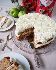 Sandwich Cake, Sandwiches, Apple Cake, No Bake Cake, Cake Recipes, Spicy, Sugar, Baking, Fruit