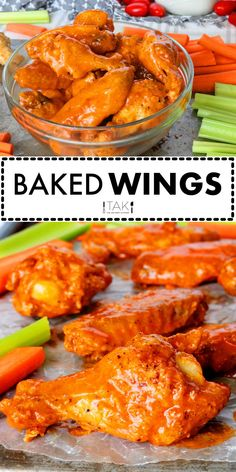 An easy, homemade mild Buffalo Wing Sauce  recipe, plus how to bake a batch of seriouslychicken wings! All you need for the sauce is Franks Hot Sauce, salt, garlic powder, onion powder and butter! This is the ultimate guide to making the best Buffalo Wings you've ever had, and it's all taking place in your very own kitchen!