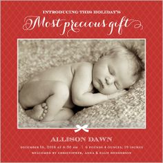 Most Precious Gift 5x5 Flat Stationery Card by Stacy Claire Boyd | Shutterfly $1.19