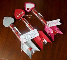 TWIZZLER ARROWS: by happystamper09 - Cards and Paper Crafts at Splitcoaststampers
