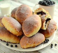 feed_image Polish Recipes, Polish Food, Hot Dog Buns, Sugar Cookies, Cooking Recipes, Sweets, Bread, Baking, Ethnic Recipes