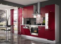 Vivid-Italian-Kitchen-Decor Top 10 Stylish and Practical Kitchen Design Trends for 2019 Italian Kitchen Decor, Chef Kitchen Decor, Kitchen Interior, Kitchen Ideas, Kitchen Small, Kitchen Furniture, Italian Kitchens, Modern Furniture, Kitchen Layouts