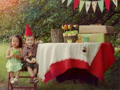 Gnome-y birthday party!