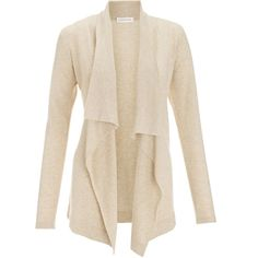 Monsoon T Colorado Waterfall Front Cardigan ($96) ❤ liked on Polyvore featuring tops, cardigans, sweaters, jackets, outerwear, drapey cardigan, draped tops, pink top, pink cardigan and waterfall cardigan