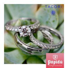 El amor eterno si existe, sella tu compromiso junto a #Tacori, encuéntralo exclusivamente en #JoyeriaPapidu
