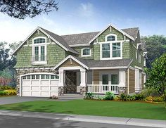Plan 2356JD: Craftsman Bungalow with Options
