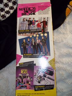"""1990 Official New Kids on the Block Jordan 12"""" collectible doll in box.. $19.99, via Etsy."""